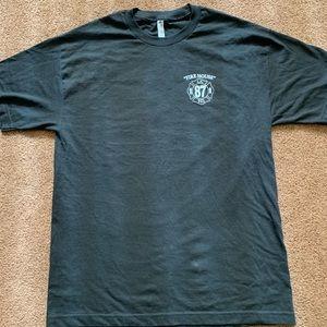 Large firemen's t shirt